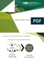 Cyber Security Initiative Presentation
