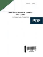 CDB UK Ltd 2008