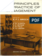 Brech 1966 the Principles and Practice of Management