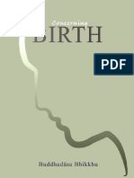 Concerning Birth - Buddhadasa Bhikkhu