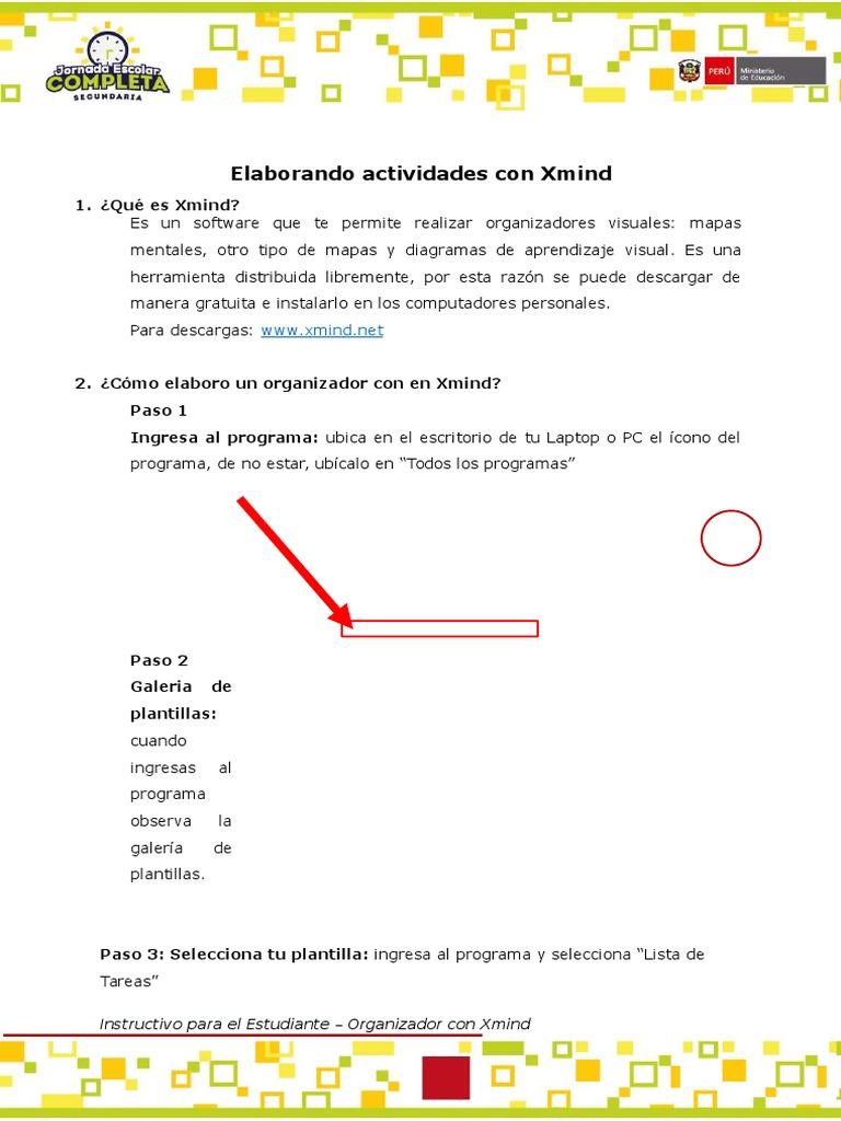 Atractivo Descargar Plantillas Xmind Regalo - Ejemplo De Currículum ...
