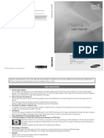 Manual de Usuario Plasma Tv Samsumg 7000