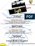 Locandina Cinemamente Light 2010 - 3^ Edizione