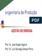 UNESP - GESTAO ENERGETICA