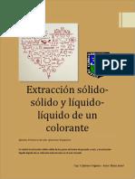 Extracción Solido-solido y Liquido
