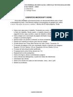 Atividade Informatica Basica - Word