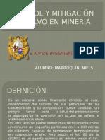 Control y Mitigación de Polvo en Minería