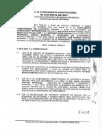 Contrato El Centenario
