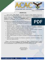 Credenciales Locales Ageacac 2017