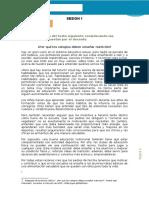 SEPARATA  DE COMPRENSION LECTORA