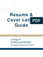 Resume & Cover Letter Guide
