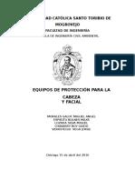 EPP Cabeza y Facial