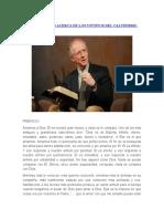 John Piper Lo Que Creemos Acerca de Los 5 Puntos Del Calvinismo Por John Piper