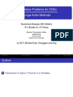 Lecture Notes 12-Runge-Kutta Method