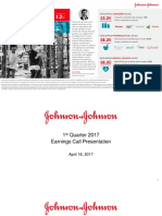 JNJ Earnings Presentation 1Q2017