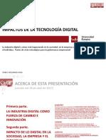 Impactos de la tecnología digital en la sociedad, el individuo y la empresa