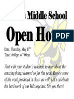 2016 2017 Open House Flyer