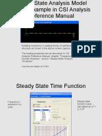 Sap2000 Steady State Ejemplo