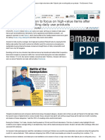 Festive sale_ Amazon to focus on high-value items after Flipkart's jibe on selling daily use products - The Economic Times.pdf