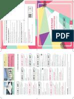 Programme Lyon 2016