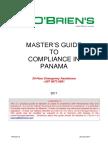 Panama Masters Guide 2017 Rev 0