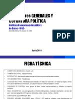 Encuesta Ivad Venezuela mayo junio 2008