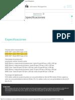 Escáner i2420 Especificaciones - Kodak Alaris Information Management