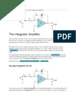 Integrator Amplifier