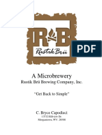 Rustik Brü Business Proposal 10bbl