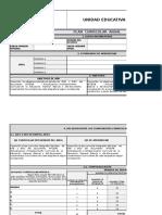 1.1 Plan Curricular Anual Expresion Oral y Escrita 2016-A