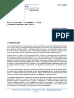 POSTCOLONIALISMO, CONOCIMIENTO Y PODER..pdf
