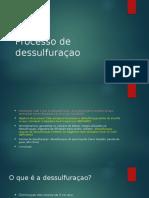 Seminario Dessulfuraçao 2017