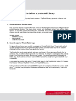 How to Deliver a Protected Library
