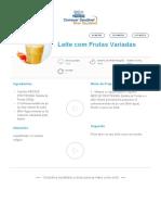 Leite Com Frutas Variadas _ Clube Bebé Nestlé