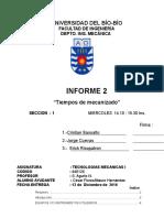 Informe 2 Cav