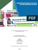 Manual Normalizacao 2016