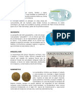 Ciencias Auxiliares de La Historia, Concepto e Imagenes