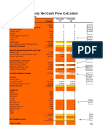 An Example Template for Investment Property Inventory