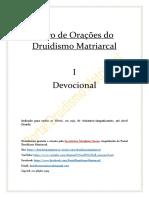 Livro de Orações Do Druidismo Matriarcal Vol.1Devocional