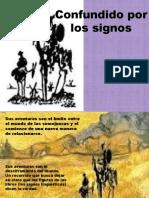 Don Quijote Confundido Por Los Signos