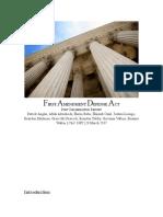 post-deliberation report