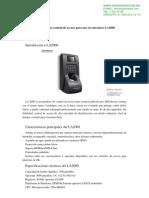 ctrl de acceso ZK TAC4250(LA2000MF)