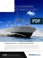 Common Unmanned Surface Vehicle