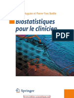 Biostatistiques Pour Le Clinicien-Springer