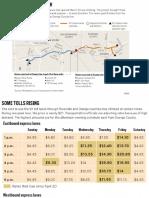 91 Freeway tolls rising
