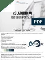 Diogo Martins 9289 AMB - Relatório Redesign Portal IPL