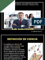 Unidad i Leccion 1 La Ciencia y Clasificacion de Ciencia Dr Quiroz 2016 Uigv Psicologia