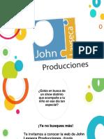 Texto Promocional - John Layseca Producciones