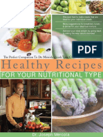 DR MERCOLA Healthy Recipes Web