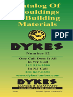 Dykes Moulding Catalog 2012